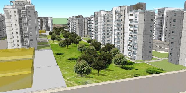 במסגרת הסכם הגג: שכונה של מחיר למשתכן בבאר שבע גדלה ב־30%