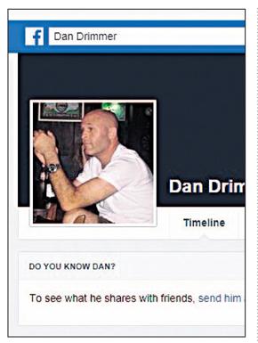 מתוך פרופיל הפייסבוק של דני דרימר