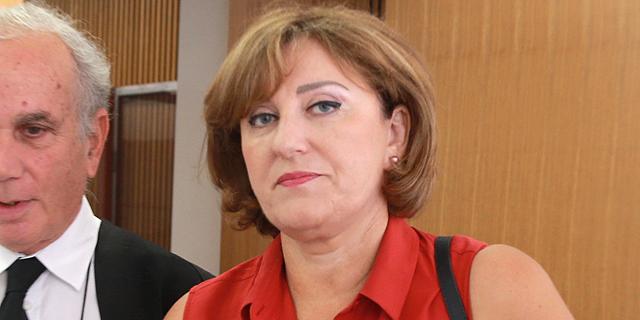 פאינה קירשנבאום בבית המשפט, צילום: אוראל כהן