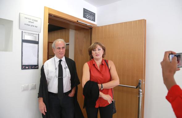 פאינה קירשנבאום בבית המשפט (ארכיון), צילום: אוראל כהן