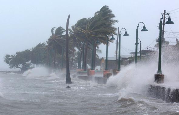 הוריקן אירמה שפגע בפורטו ריקו
