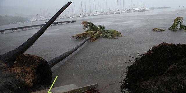 הוריקן אירמה מגיע לפורטו ריקו, צילום: Getty