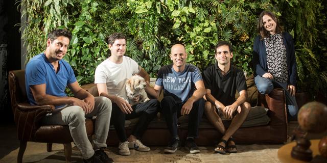 Left to right: Tomer Benyamini, Ohad Barkai, Ido Sovran, Yair Mazor, Yonit Hoffman