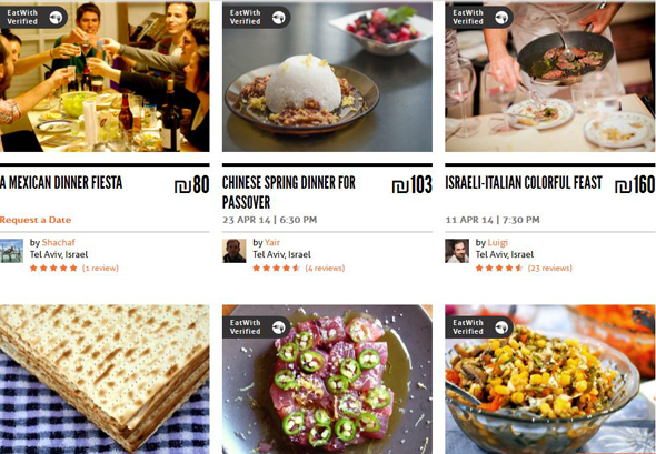 Social eating platform EatWith