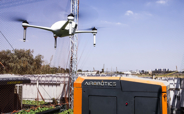 An Airobotics drone. Photo: Airobotics