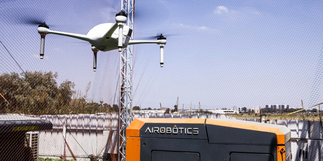 Airobotics Adds Aerial LiDAR Capabilities to its Automated Drone