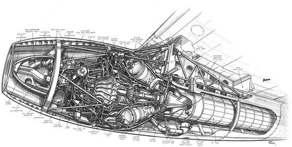 מנוע סילון סטנדרטי? מסובך מדי