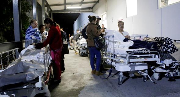 רעידת אדמה רעש אדמה ב דרום מקסיקו צונאמי, צילום: רויטרס