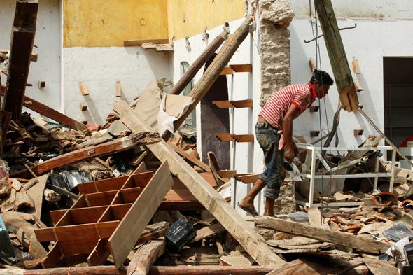 רעידת אדמה רעש אדמה ב דרום מקסיקו צונאמי 5, צילום: רויטרס