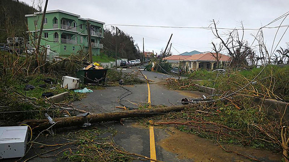 הנזק מהסופה אירמה בקובה