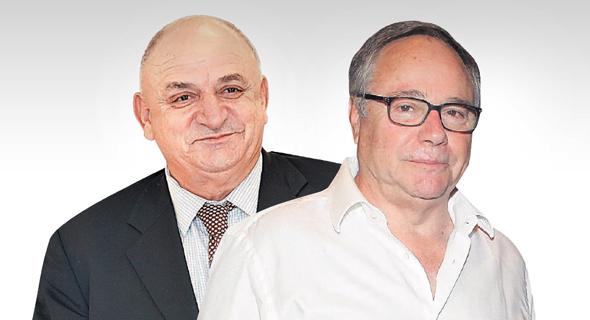 מימין יאיר המבורגר ו יצחק תשובה, צילום: ראובן שוורץ, אוראל כהן