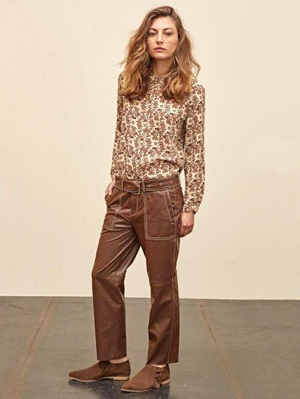 """סאקס. חולצה: 690 שקל, מכנסיים: 1,360 שקל, צילום: יח""""צ"""