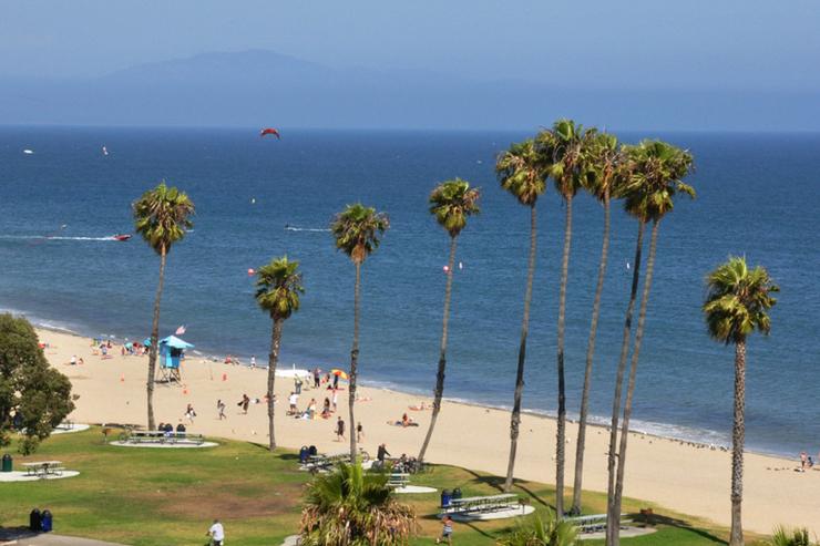 סנטה ברברה, קליפורניה, צילום: beachtraveldestinations