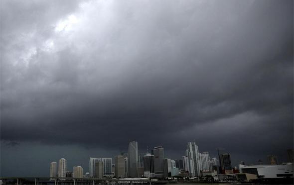 הוריקן אירמה במיאמי