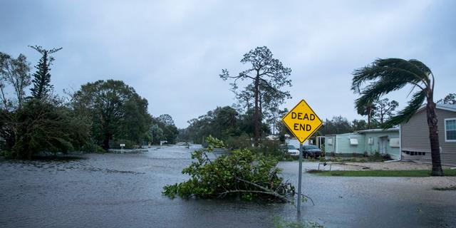 ההוריקן בפלורידה נחלש לדרגה 1; 8.5 מיליון בתים ובתי עסק מנותקים מחשמל