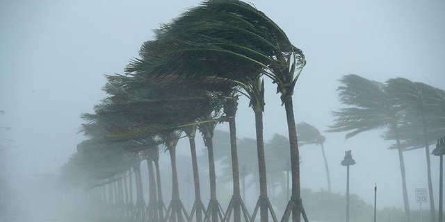הוריקן אירמה מגיע לפלורידה , צילום: גאי אימג