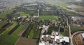 מושב ניר צבי צילום אווירי, צילום: אתר Lowshot