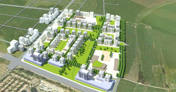 , תכנית בניין עיר והדמיה: פרחי-צפריר אדריכלים