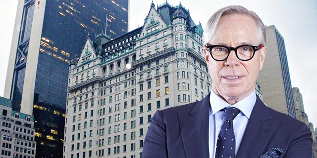 טומי הילפיגר מעמיד שוב למכירה את הפנטהאוז במלון פלאזה ניו יורק, הפעם ב-50 מיליון דולר