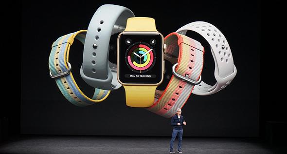 אירוע אפל 2017 מטה שעון
