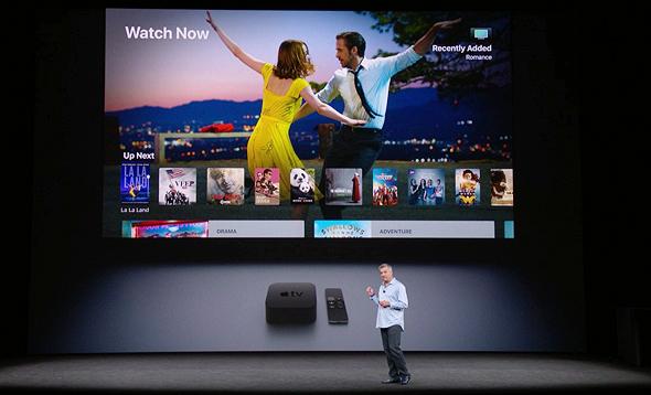 אירוע אפל 2017 4K אפל TV