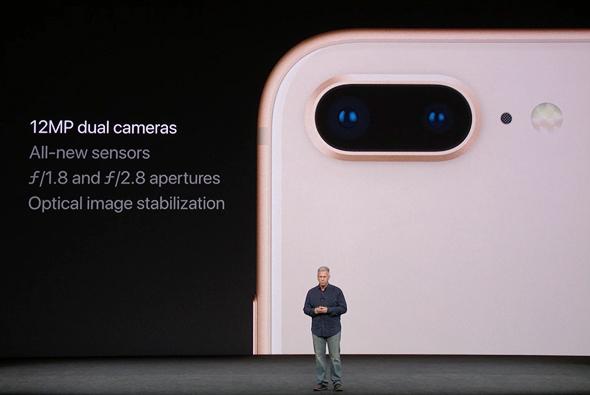 אירוע אפל 2017 מצלמת אייפון 8 פלוס