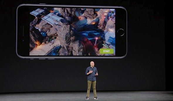 אירוע אפל 2017 משחק אייפון 8 ARKIT