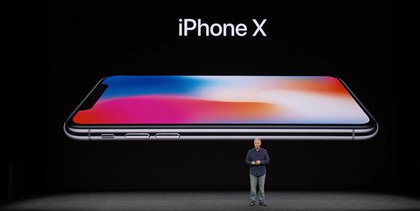 האייפון X באירוע חשיפתו