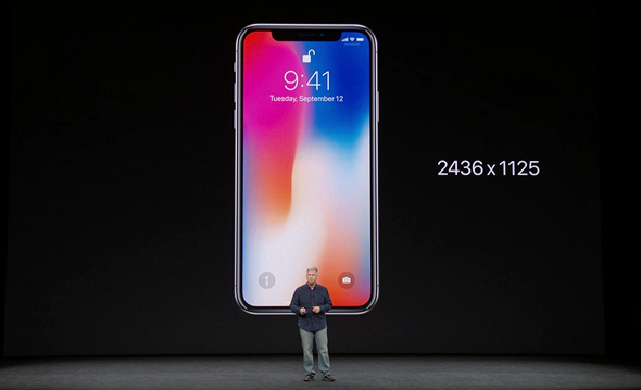 אירוע אפל 2017 אייפון X מסך