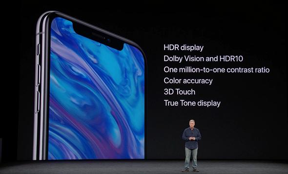 אירוע אפל 2017 אייפון X מפרט מסך