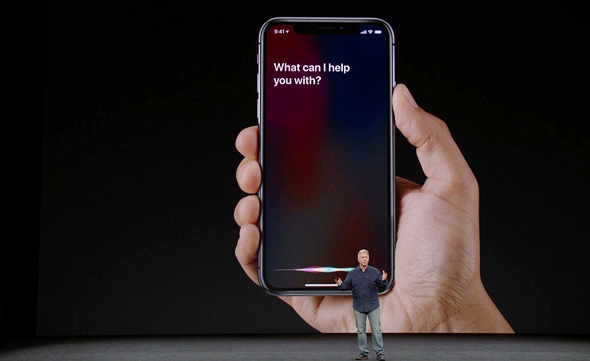 אירוע אפל 2017 אייפון X סירי