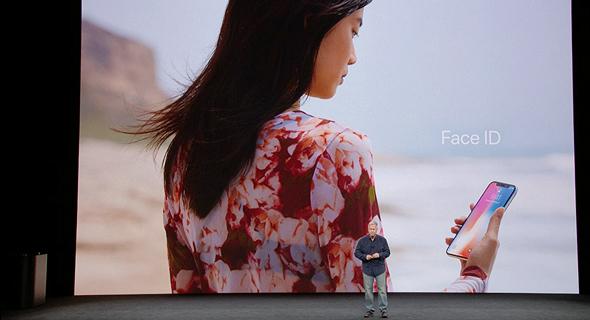 אירוע אפל 2017 אייפון X פייס ID