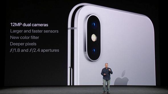 אירוע אפל 2017 אייפון X מצלמה מפרט
