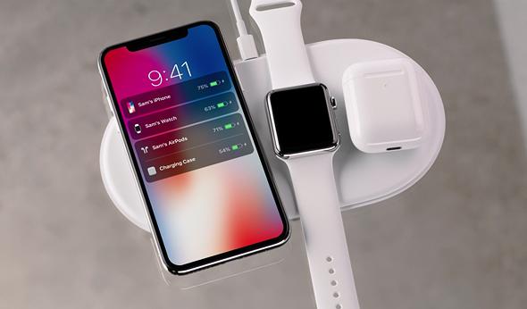 אירוע אפל 2017 אייפון X מטען אלחוטי אפל