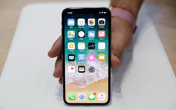 אייפון X אייפון 10 אפל, צילום: איי פי