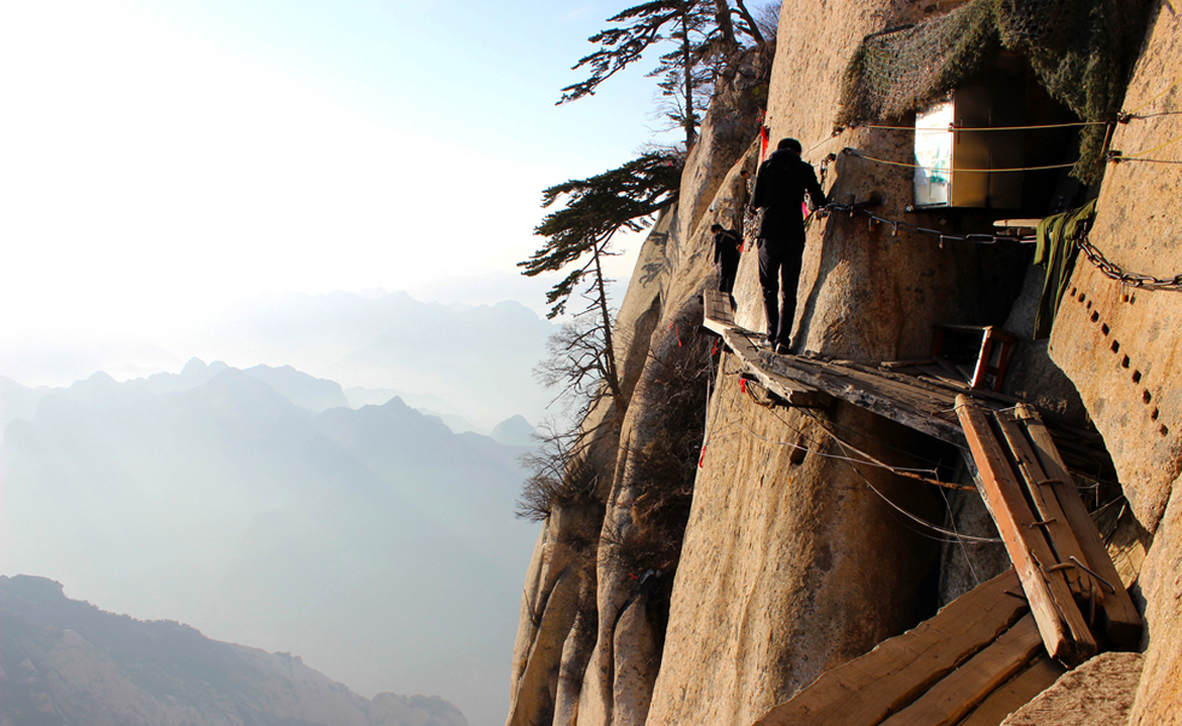 פוטו טיפוסי הרים מסוכנים הר הואה שאן סין , צילום: שאטרסטוק