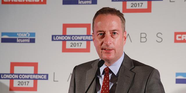 ועידת לונדון 2017 - דיויד קוורי שגריר בריטניה בישראל
