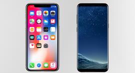 אייפון X נגד גלקסי S8