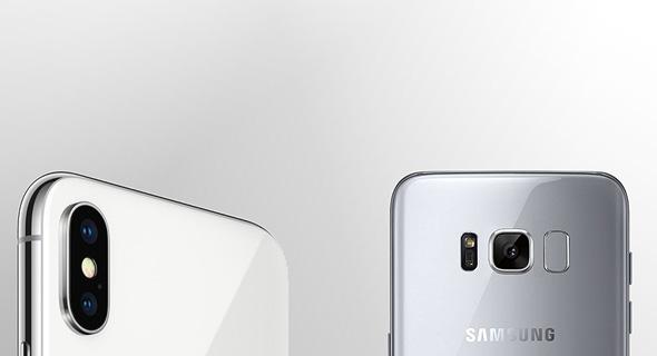 המצלמה של ה-S8 מול האייפון X