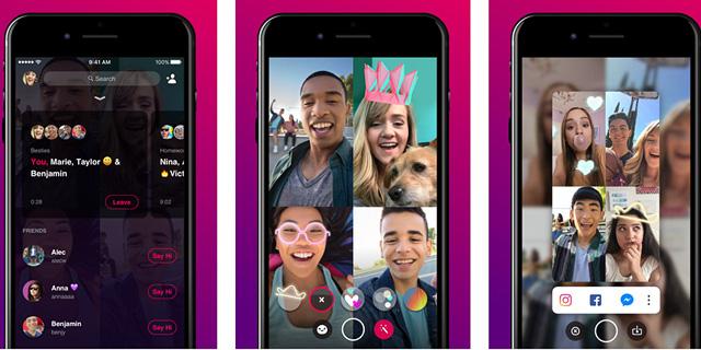 פייסבוק בוחנת את אפליקציית הווידאו צ'ט בדנמרק