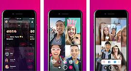 אפליקציית הווידאו צ'ט - Bonfire של פייסבוק, צילום: Apple App store