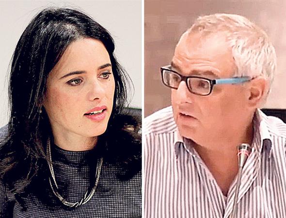 אהוד פראוור ו איילת שקד, צילומים: youtube , בשמת איבי