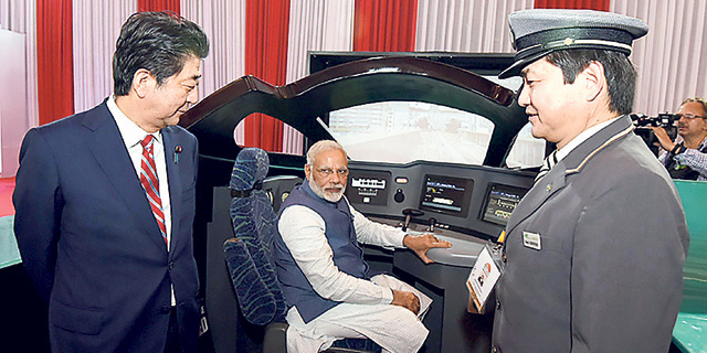 יפן תבנה להודו רכבת קליע בעלות של 17 מיליארד דולר