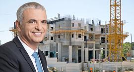 שר האוצר משה כחלון בנייה בניין מחיר למשתכן, צילום: אוראל כהן, ענבל מרמרי