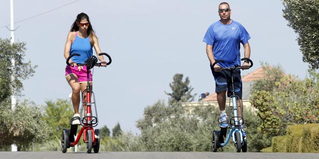 אימון אישי: ללכת על אופניים