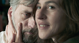 שרה אדלר וליאור אשכנזי ב פוקסטרוט, צילום: גיורא ביח
