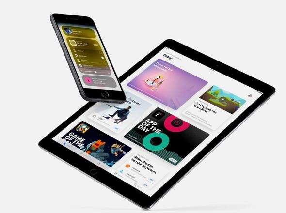 אייפון ו טבלט של אפל
