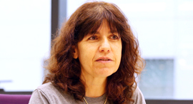 יואל מארק מנהלת מרכז הפיתוח של Oath יאהו לשעבר בחיפה, צילום: אלעד גרשגורן