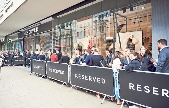 פתיחת סניף Reserved בלונדון