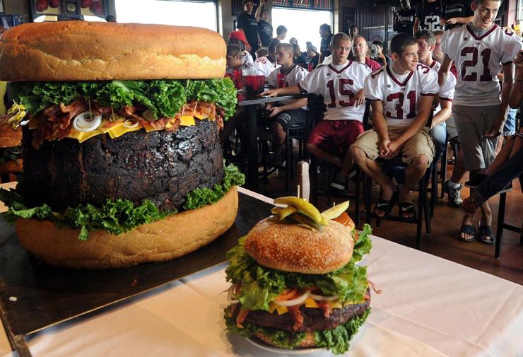 ההמבורגר הכי גדול בעולם